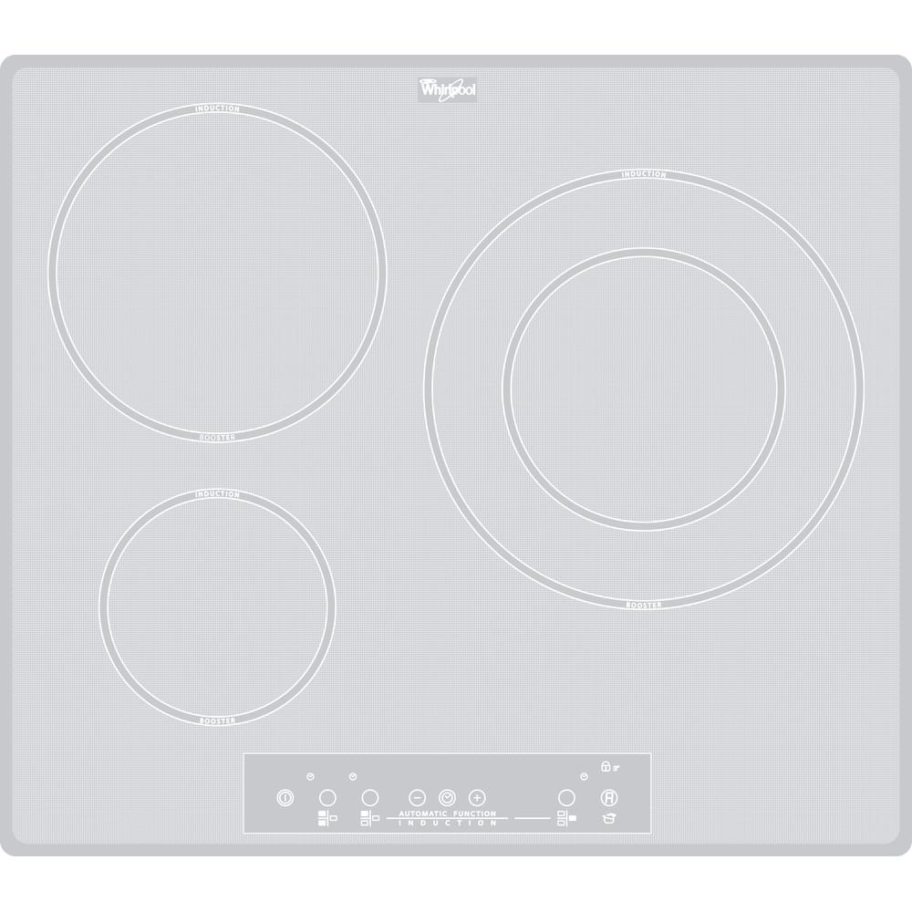 Placa de inducción Whirlpool - ACM 680/NE/WH