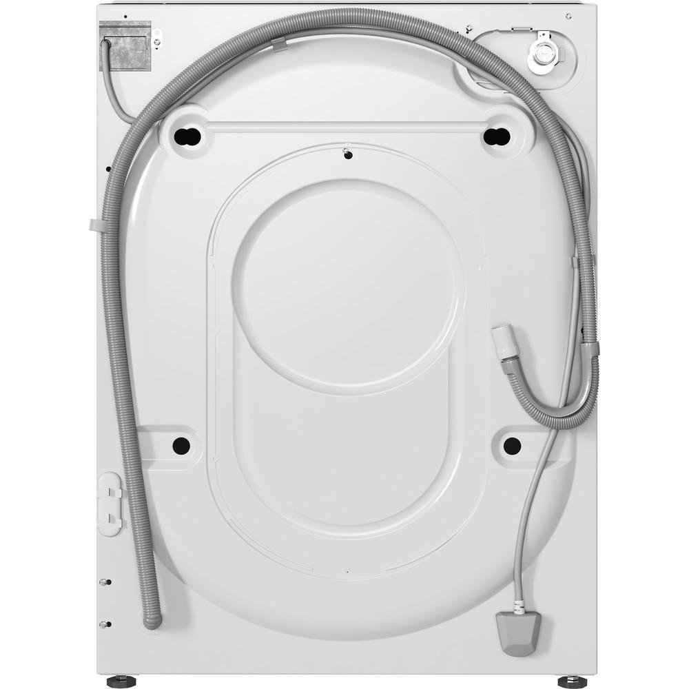 Indesit Lavante-séchante Encastrable BI WDIL 861484 EU Blanc Lave-linge frontal Back / Lateral