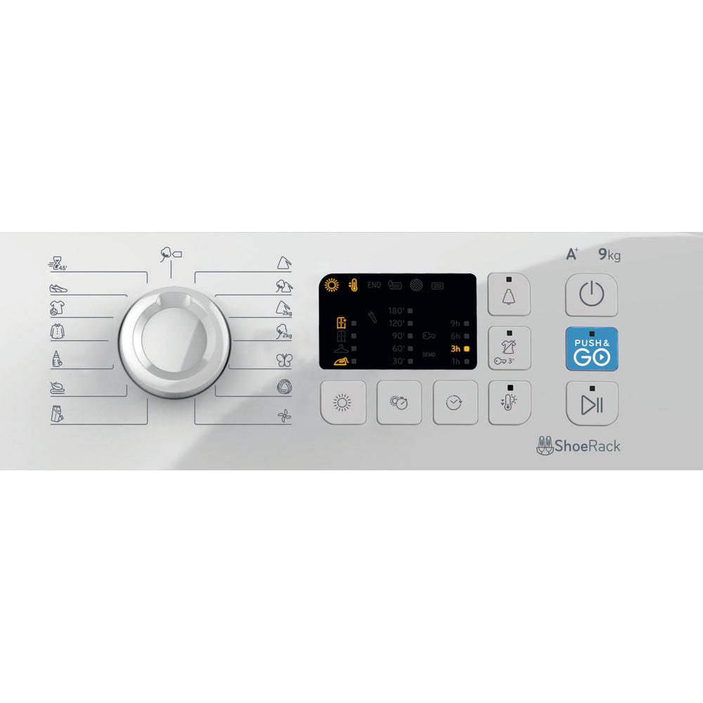 Indesit Secador YT M10 91 R EU Branco Control panel