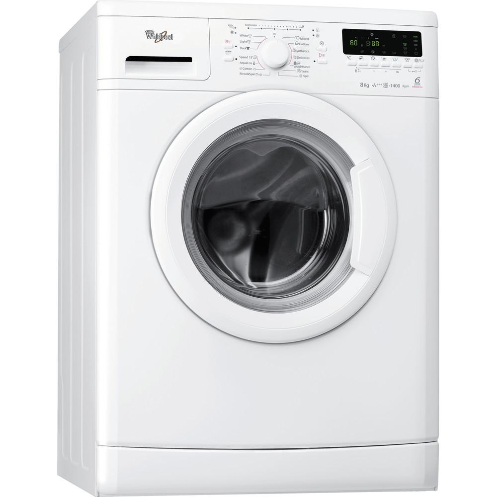 Whirlpool frontmatad tvättmaskin: 8 kg - AWO/D 8254