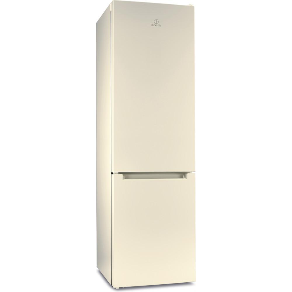 Indesit Холодильник с морозильной камерой Отдельностоящий DF 4200 E Розово-белый 2 doors Perspective