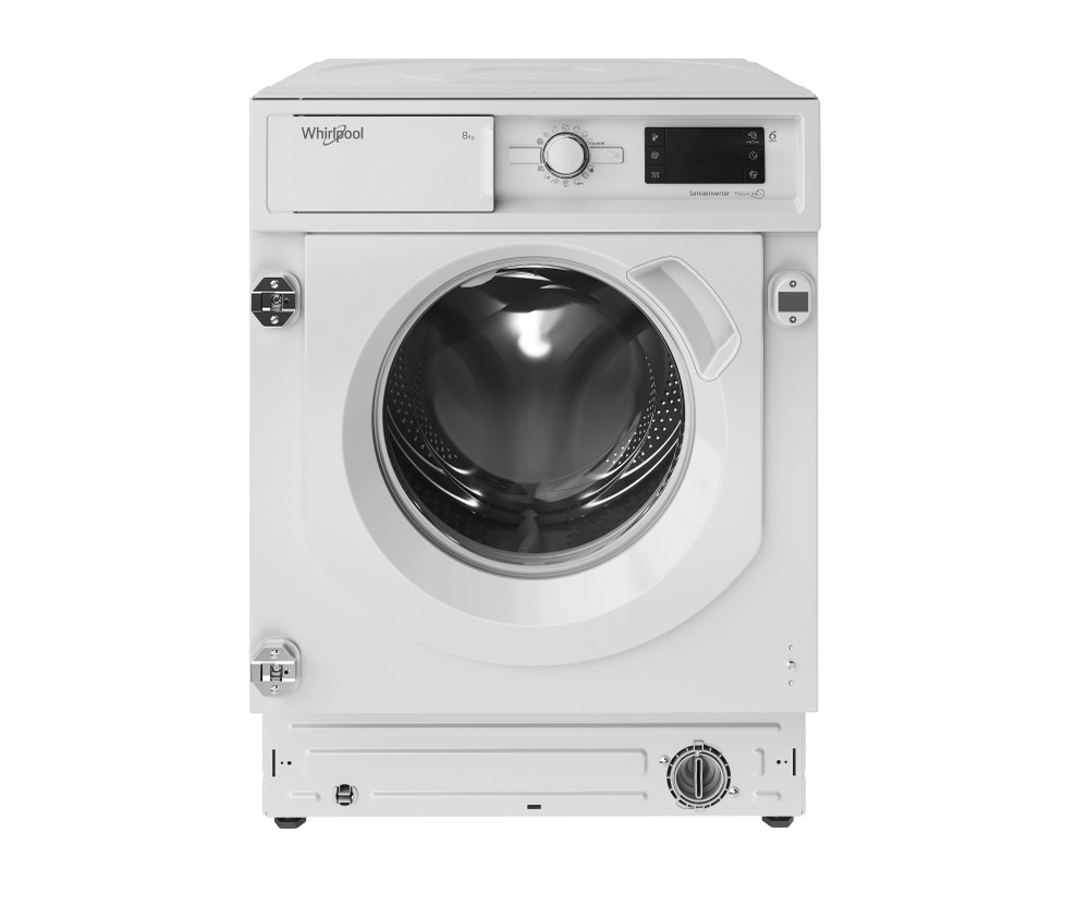 Whirlpool Maşină de spălat rufe Incorporabil BI WMWG 81484E EU Alb Încărcare frontală C Frontal