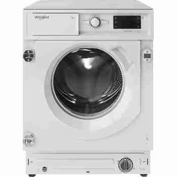 Whirlpool Maşină de spălat rufe Încorporabil BI WMWG 81484E EU Alb Încărcare frontală C Frontal