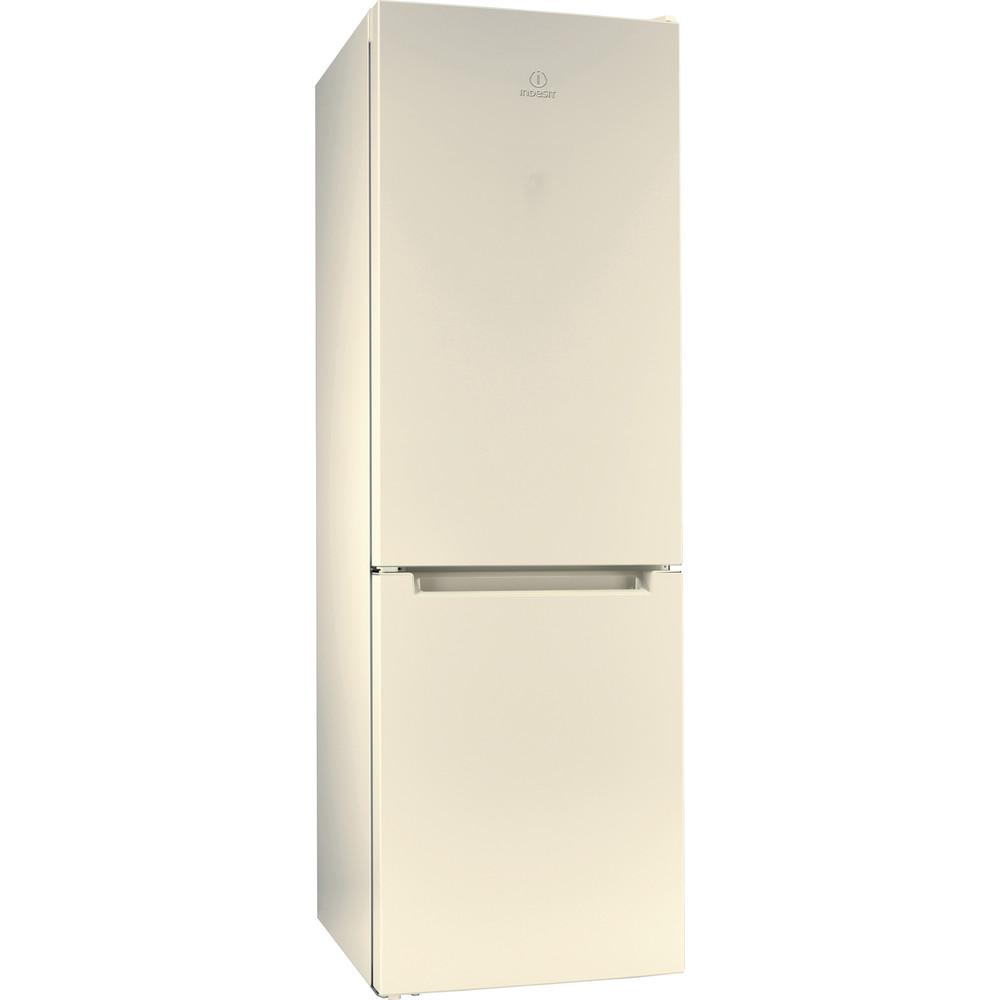 Indesit Холодильник с морозильной камерой Отдельностоящий DS 4180 E Розово-белый 2 doors Perspective