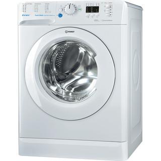 Vapaasti sijoitettava edestä täytettävä Indesit-pesukone: 7kg