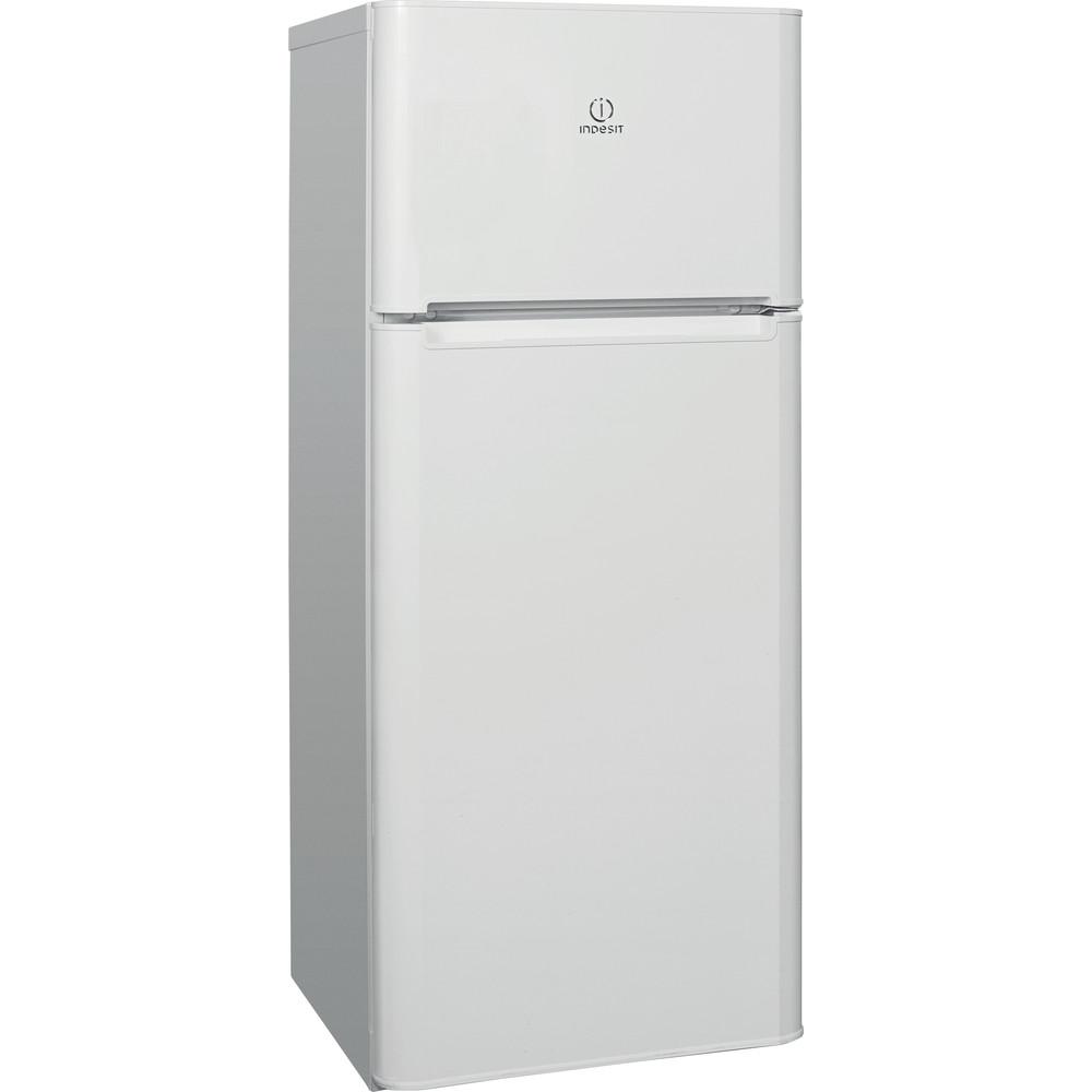 Indesit Холодильник с морозильной камерой Отдельностоящий TIA 14 Белый 2 doors Perspective