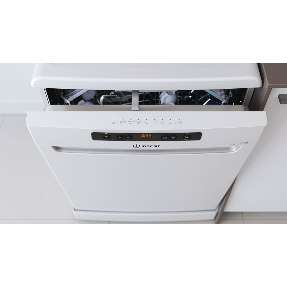 Indesit Dishwasher Free-standing DFO 3T133 F UK Free-standing D Lifestyle control panel