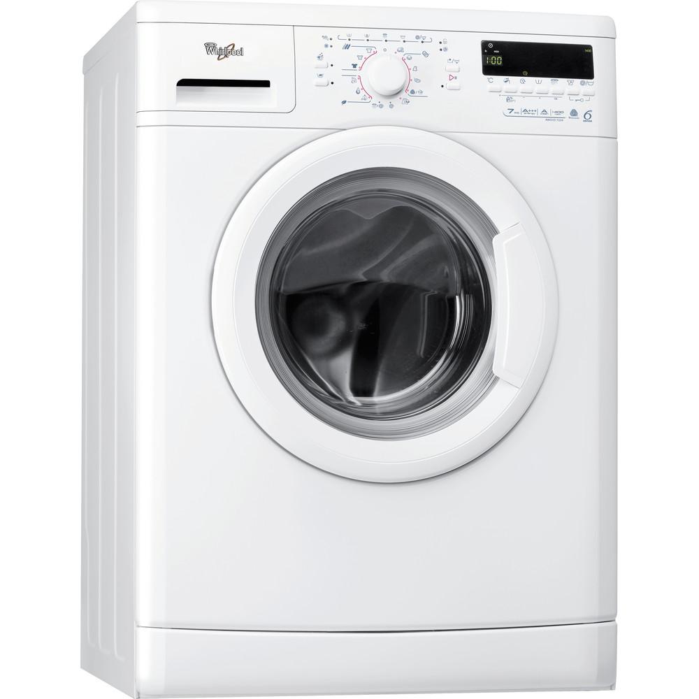 Whirlpool frontmatad tvättmaskin: 7 kg - AWO/D 7224