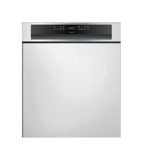 Whirlpool félig integrált mosogatógép: Inox szín, normál méretű - WBO 3T333 P 6.5 X