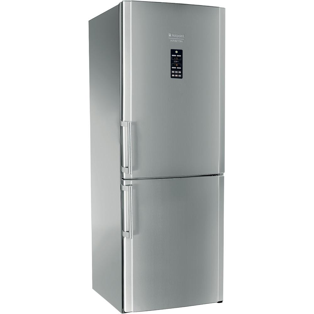 Hotpoint_Ariston Combinație frigider-congelator Neincorporabil ENBGH 19223 FW Inox 2 doors Perspective