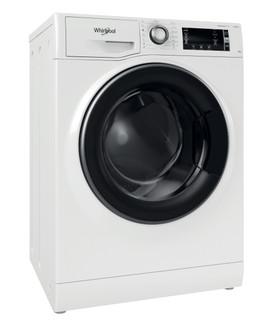 Fritstående Whirlpool-vaskemaskine med frontbetjening: 8,0 kg - NWLCD 845 WD A EU N