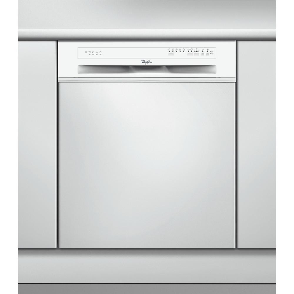 Whirlpool halvintegrerad diskmaskin: färg vit, 60 cm - ADG 5820 WH A+
