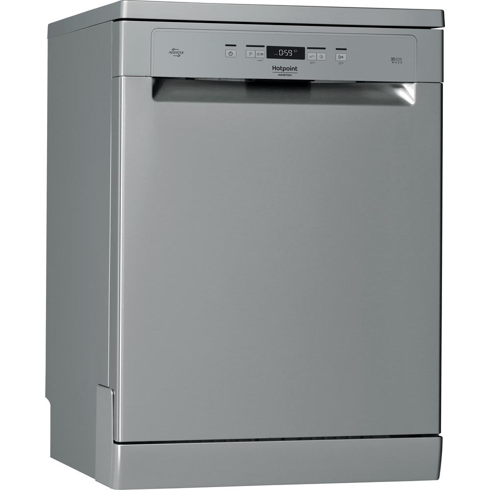 Hotpoint_Ariston Máquina de lavar loiça Livre Instalação HFC 3C32 W X Livre Instalação D Perspective