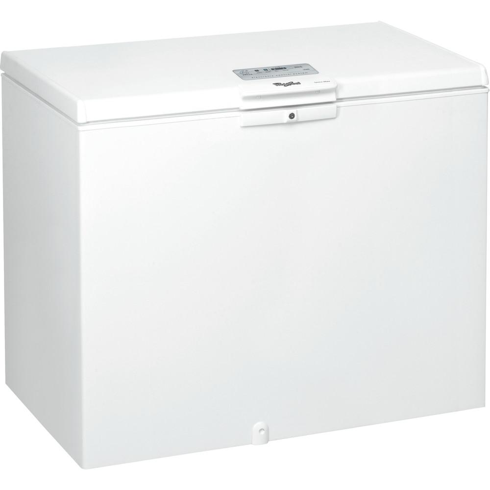 Whirlpool frysbox: färg vit - WHE3133