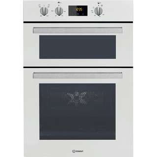 Indesit Double oven IDD 6340 WH White A Frontal