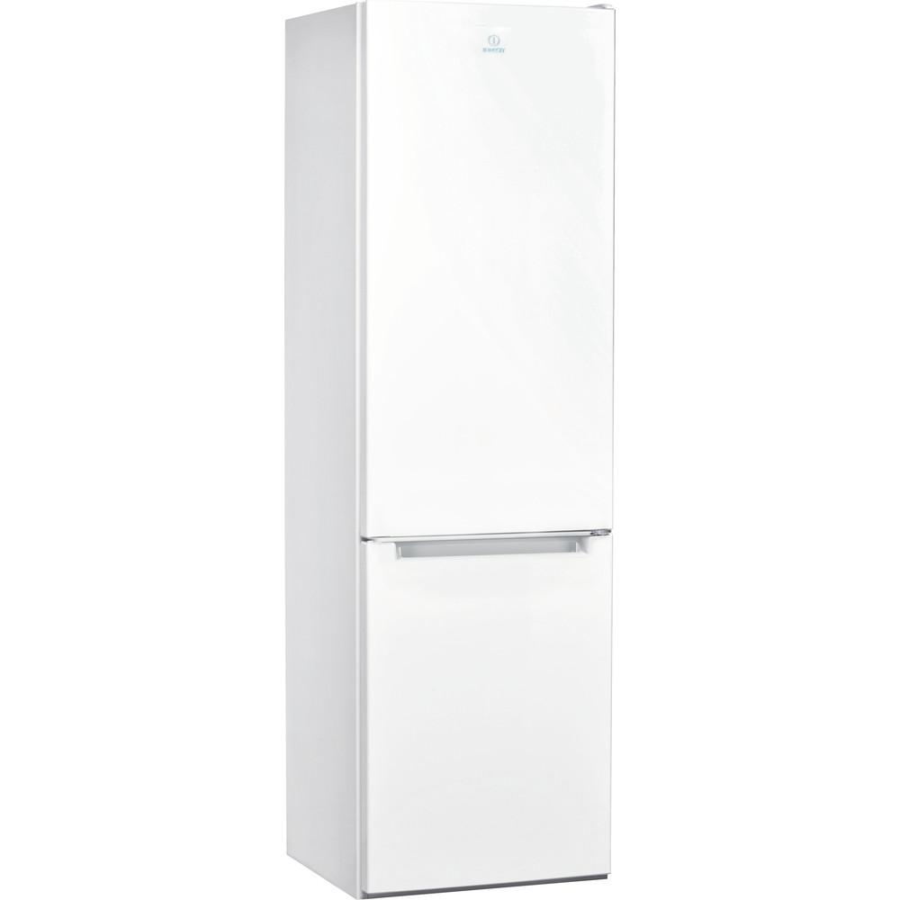 Indesit Комбиниран хладилник с камера Свободностоящи LI7 S1E W Глобално бяло 2 врати Perspective