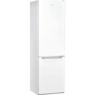Indesit Réfrigérateur combiné Pose-libre LI7 S1E W Blanc 2 portes Perspective