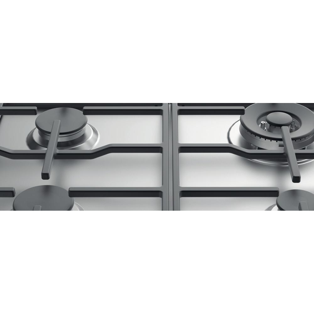 Indesit Варочная поверхность THP 641 W/IX/I Inox Газовая Heating element