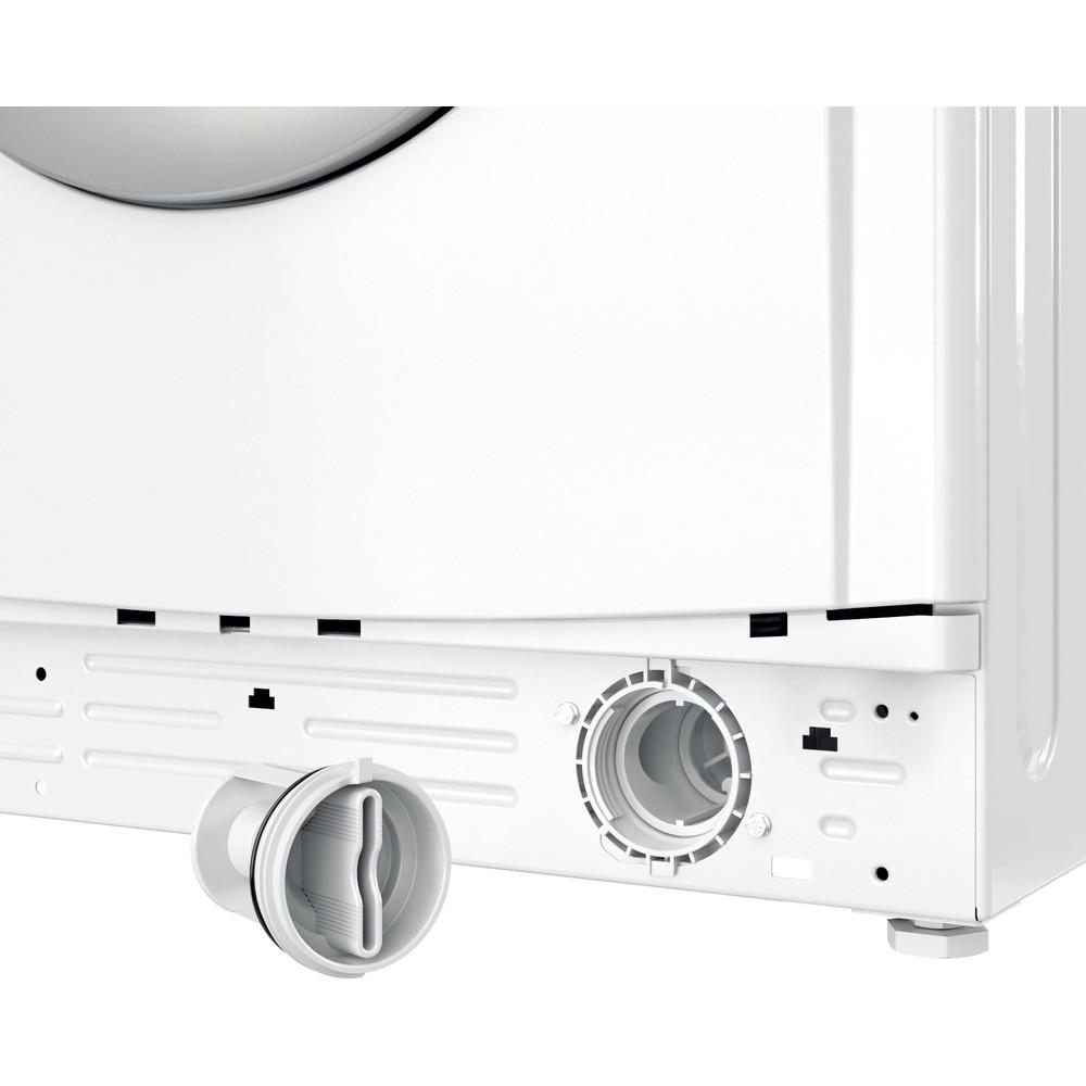Indesit Kombineret vaskemaskine/tørretumbler Fritstående EWDE 761483 WS EE N Hvid Frontbetjent Filter