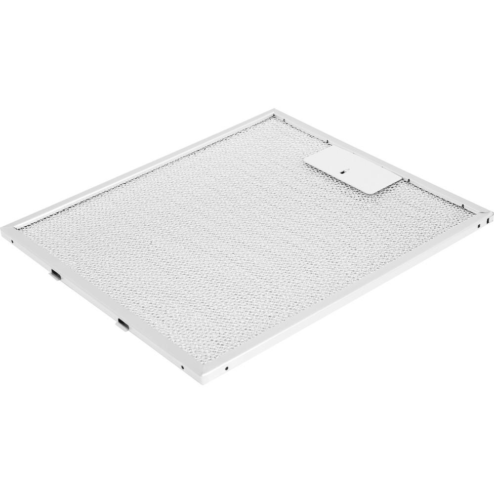 Indesit Köksfläkt Inbyggda IHVP 6.6 LM K Black Wall-mounted Mekanisk Filter