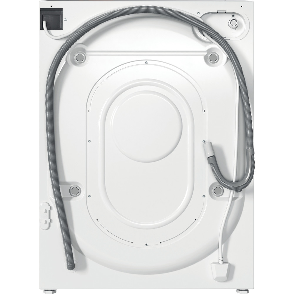 Indesit Washer dryer Built-in BI WDIL 75125 UK N White Front loader Back / Lateral