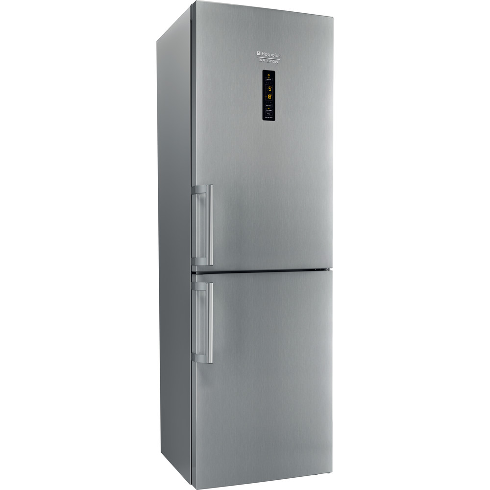 Hotpoint_Ariston Combinație frigider-congelator Neincorporabil XH8 T2Z XOJZH Inox 2 doors Perspective