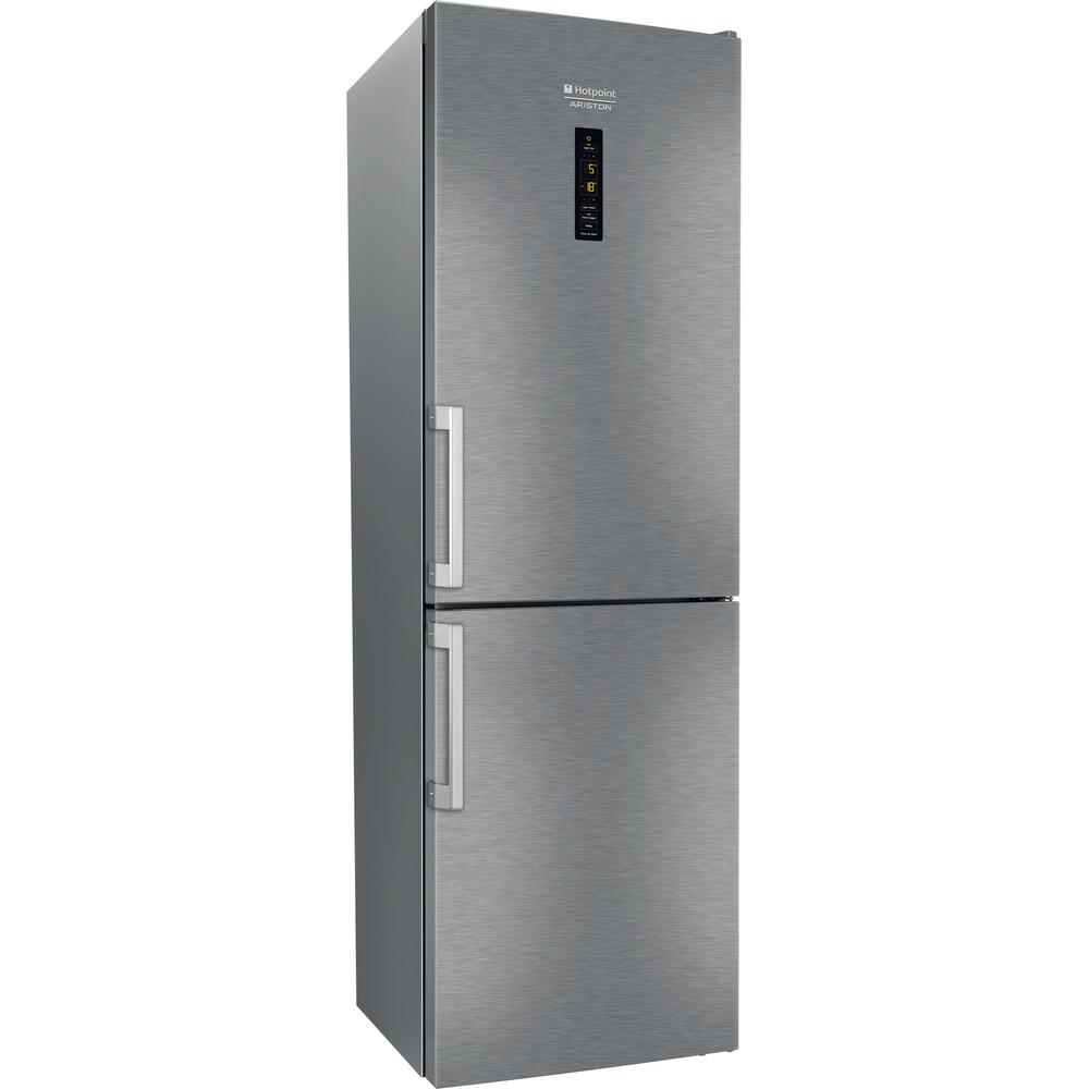 Hotpoint_Ariston Комбинированные холодильники Отдельностоящий HFP 7200 XO Зеркальный/Inox 2 doors Perspective