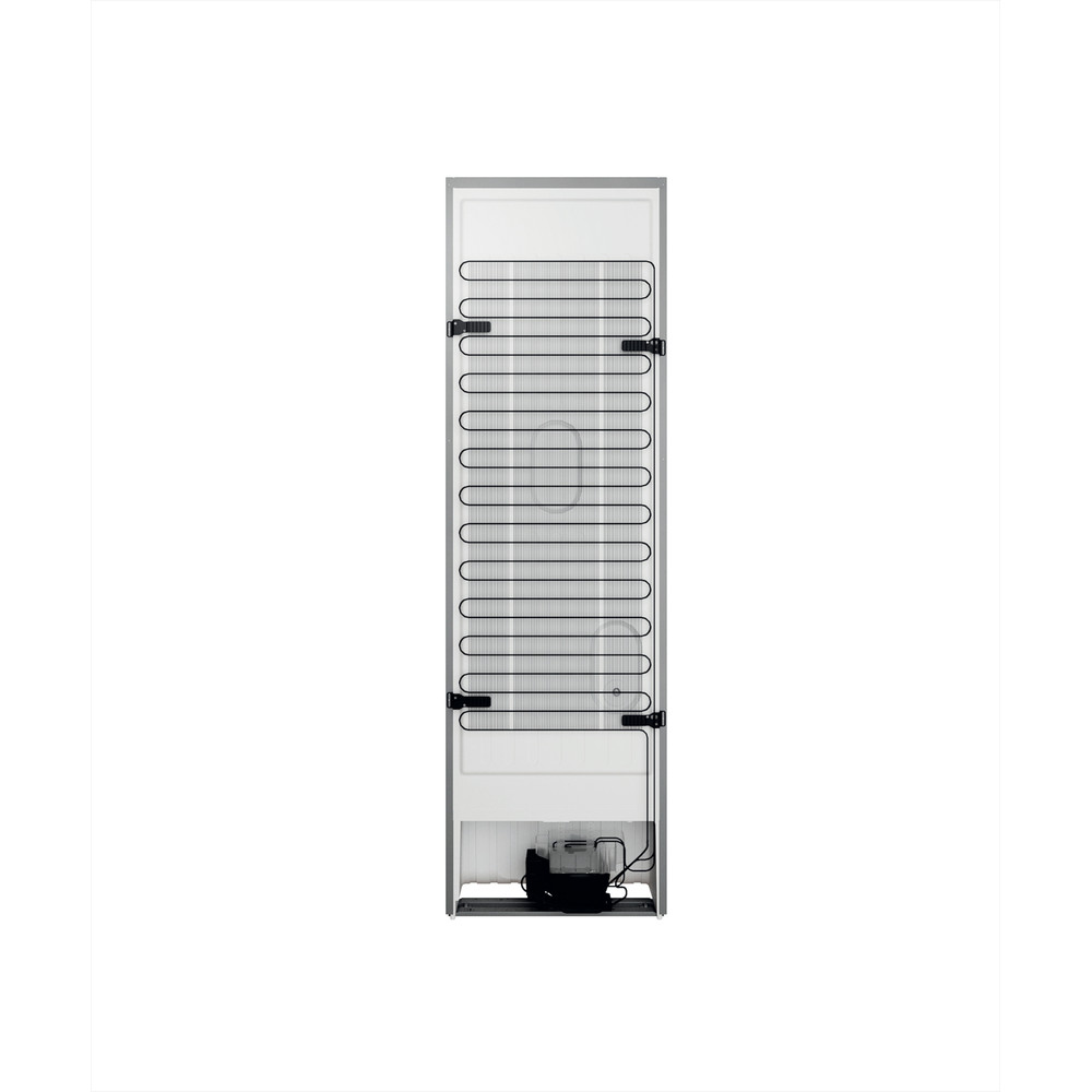 Indesit Kombinovaná chladnička s mrazničkou Volně stojící INFC9 TI21X Nerez 2 doors Back / Lateral