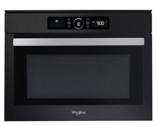 Whirlpool beépíthető mikorhullámú sütő: fekete szín - AMW 506/NB