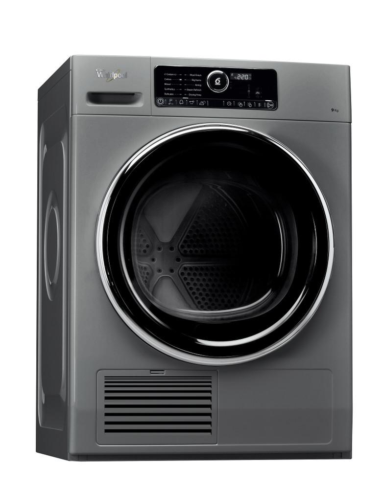 Whirlpool Dryer DSCX 90122 Silver Perspective