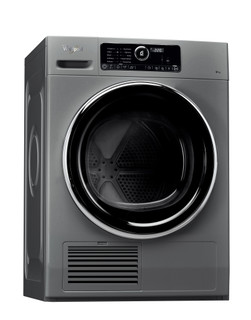 Whirlpool condenser tumble dryer: freestanding, 9kg - DSCX 90122