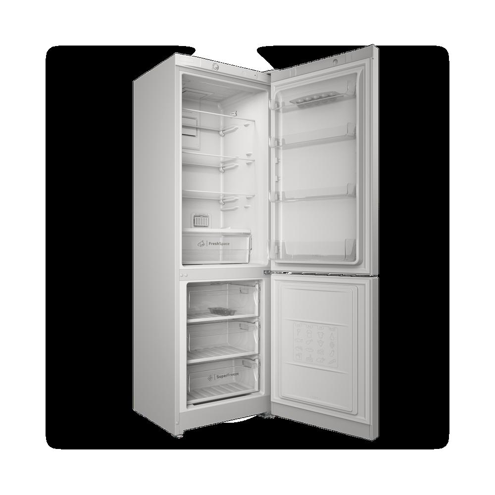 Indesit Холодильник с морозильной камерой Отдельностоящий ITS 4180 W Белый 2 doors Perspective open