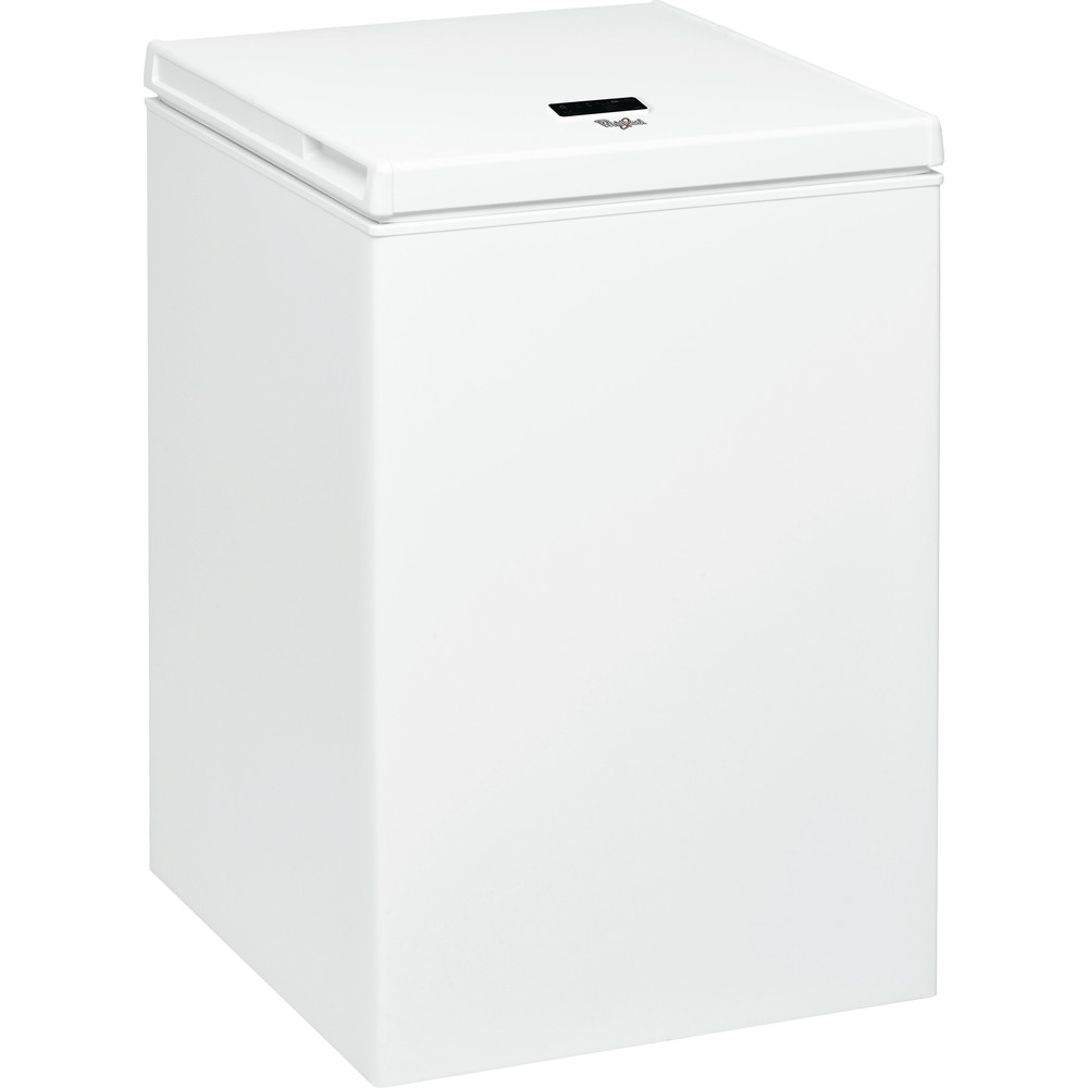 Congelador horizontal de libre instalación Whirlpool: color blanco - WH1410 A+E