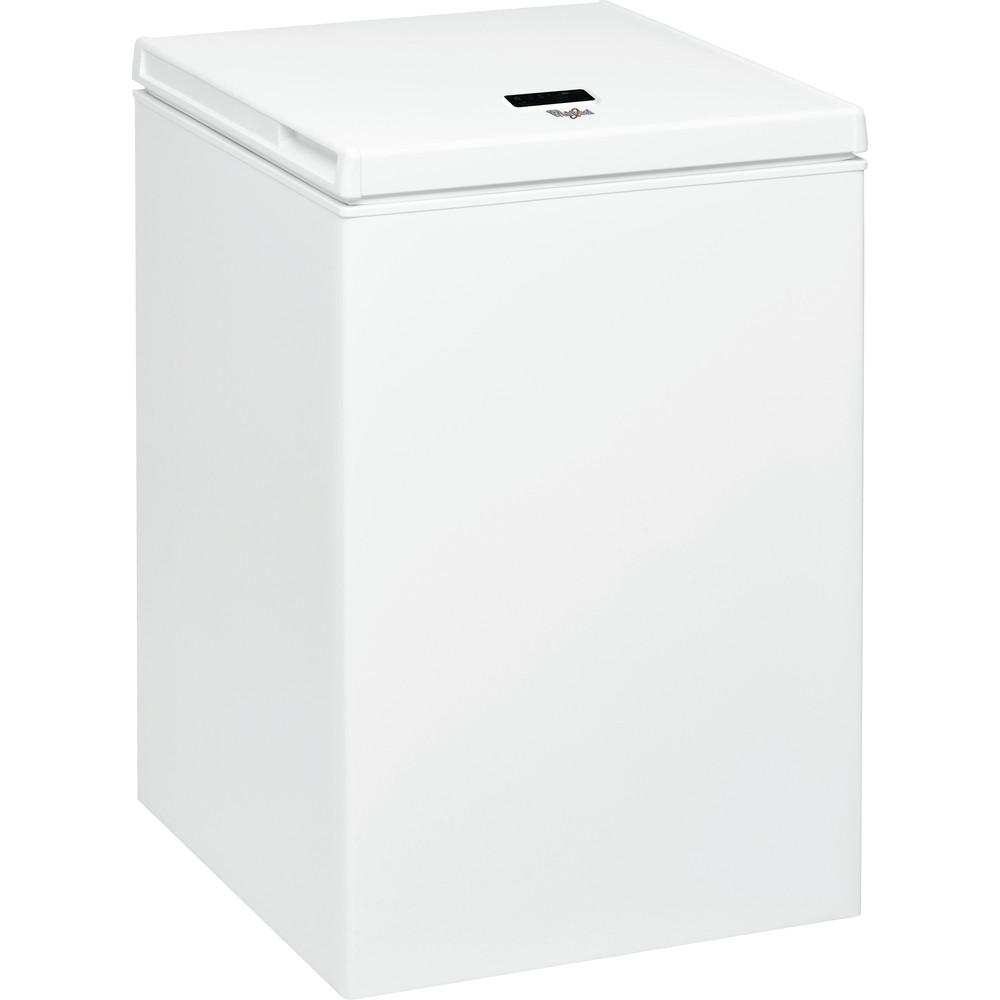 Congelador horizontal Whirlpool: color blanco - WH1410 A+E