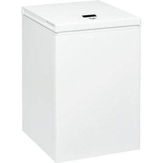 Congelador horizontal Whirlpool: color blanco - WH1410 A+E