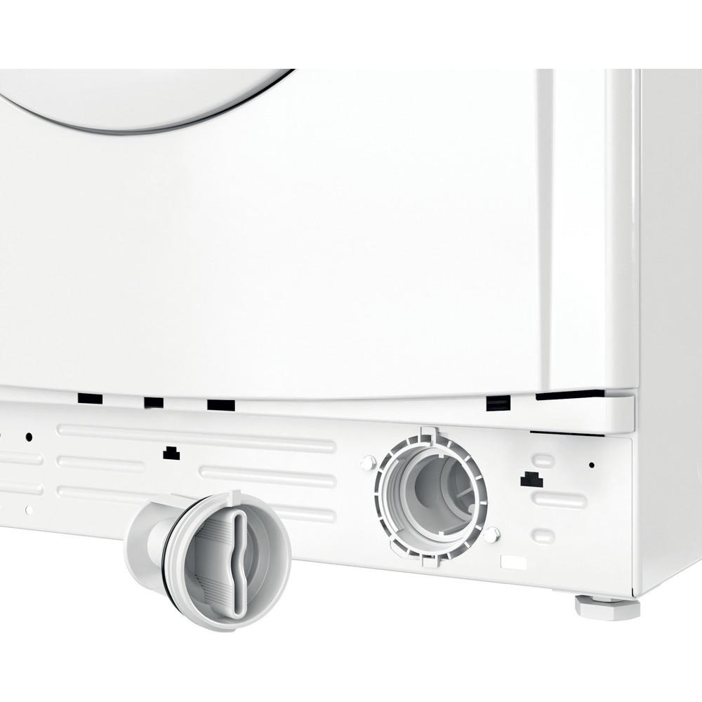 Indesit Lave-linge Pose-libre EWD71452WFR N Blanc Lave-linge frontal E Filter