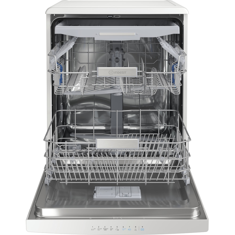 Indesit Dishwasher Free-standing DFO 3T133 F UK Free-standing D Frontal open