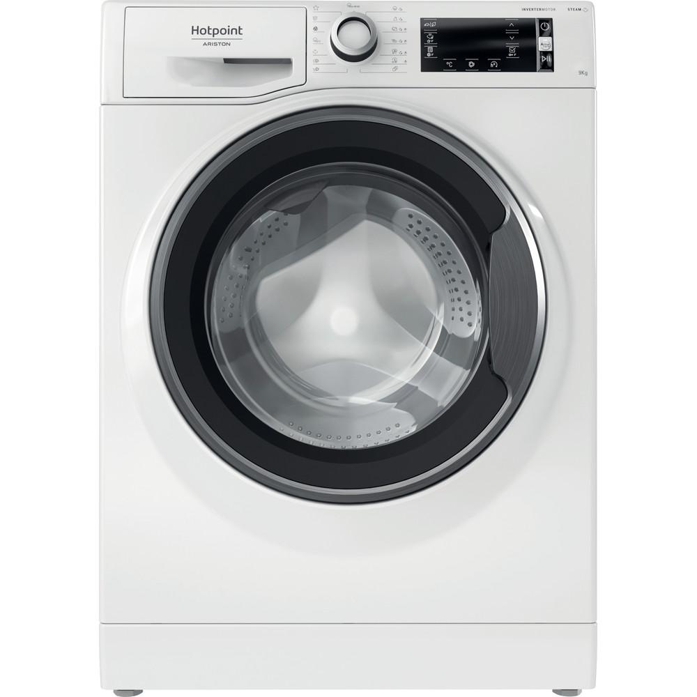 Hotpoint_Ariston Перална машина Свободностоящ NLCD 945 WS A EU N Бял Предно зареждане B Frontal