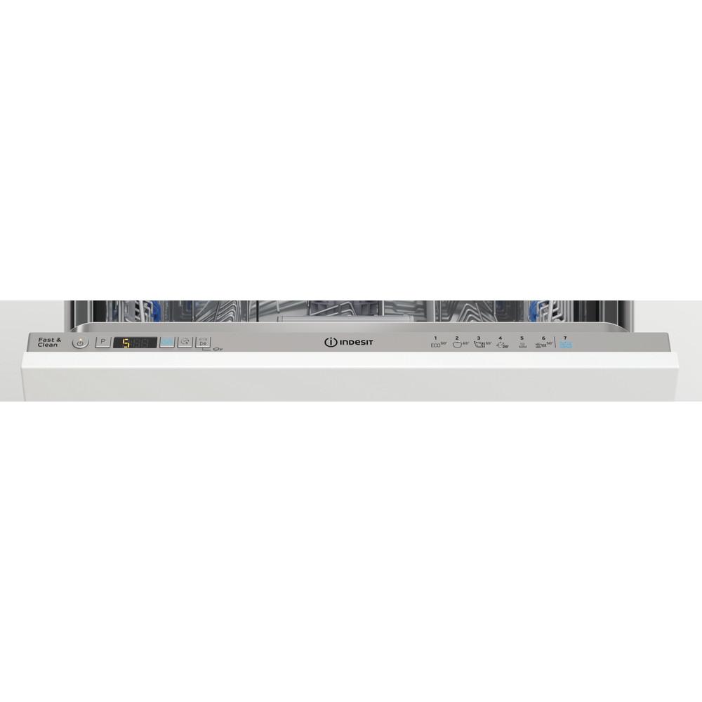 Indesit Посудомоечная машина Встраиваемый DIC 3B+16 AC S Full-integrated A Control panel