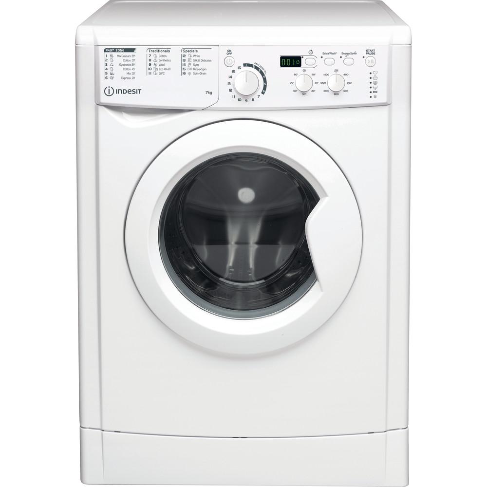 Indesit Wasmachine Vrijstaand EWD 71452 W EU N Wit Voorlader E Frontal