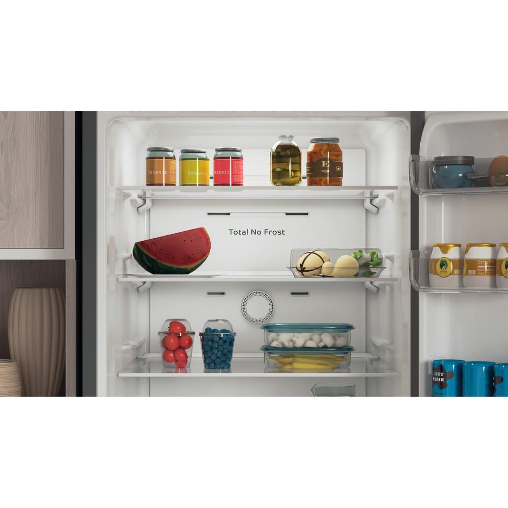 Indesit Combinación de frigorífico / congelador Libre instalación INFC9 TA23X Plata 2 doors Lifestyle detail