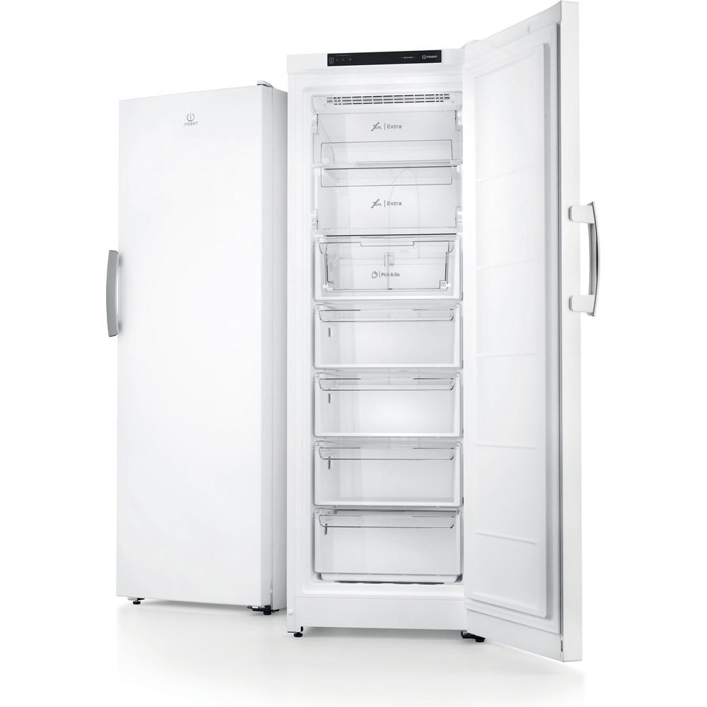 Indesit Морозильна камера Соло ITU 1175 Білий Frontal open