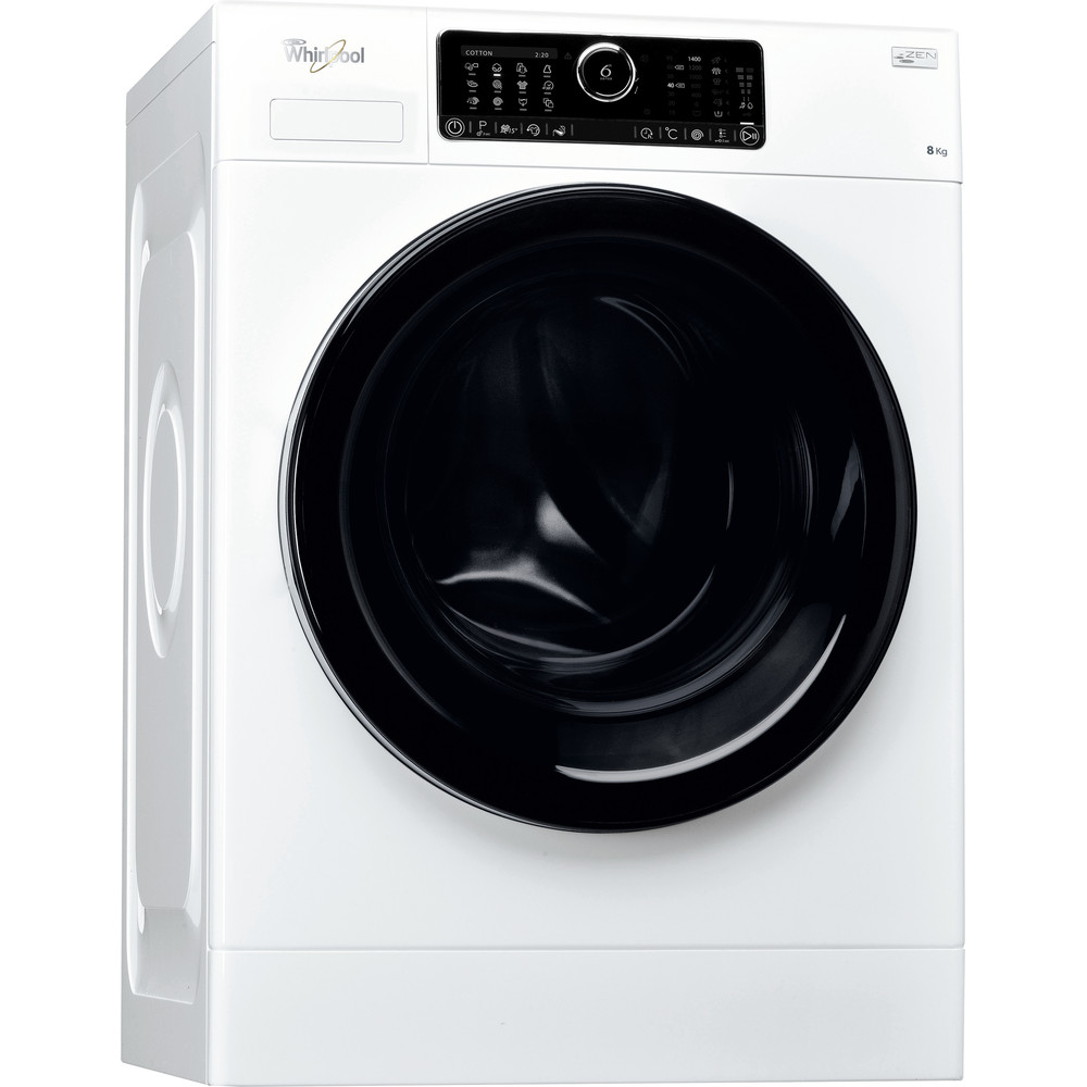 Lavadora carga frontal de libre instalación Whirlpool: 8kg - FSCR80430