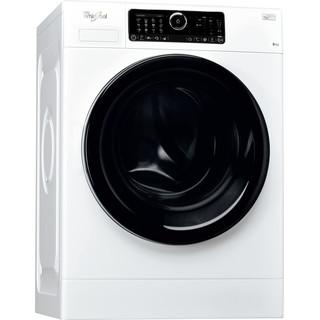 Whirlpool Máquina de lavar roupa Independente com possibilidade de integrar FSCR80430 Branco Carga Frontal A+++ Perspective