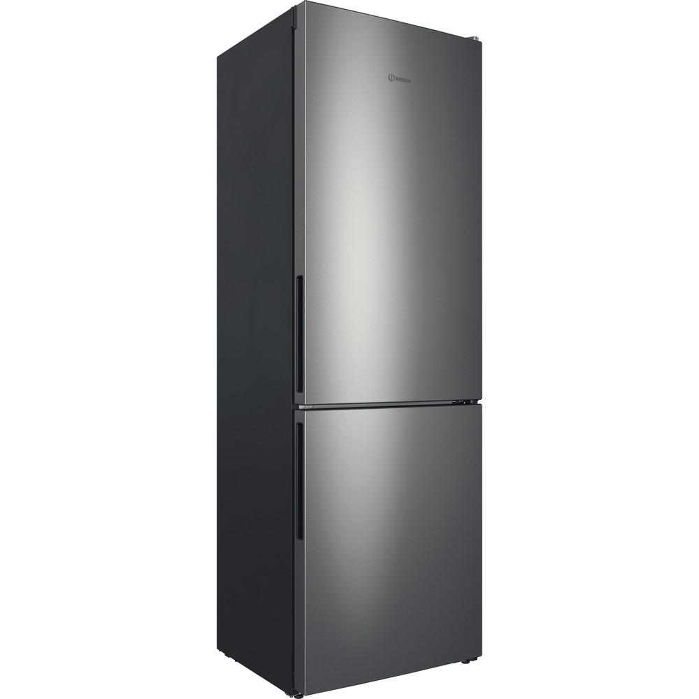 Indesit Холодильник с морозильной камерой Отдельностоящий ITD 4180 S Серебристый 2 doors Perspective