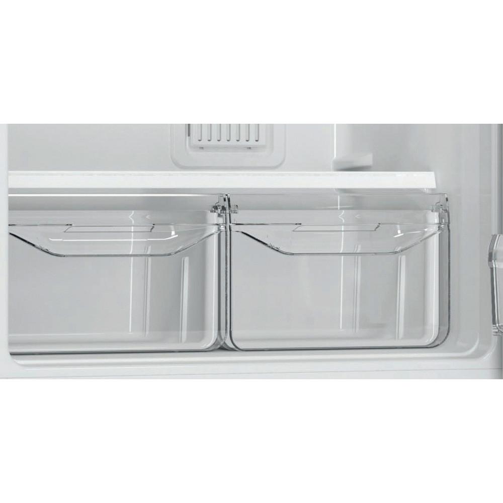 Indesit Холодильник с морозильной камерой Отдельностоящий EF 20 Белый 2 doors Drawer