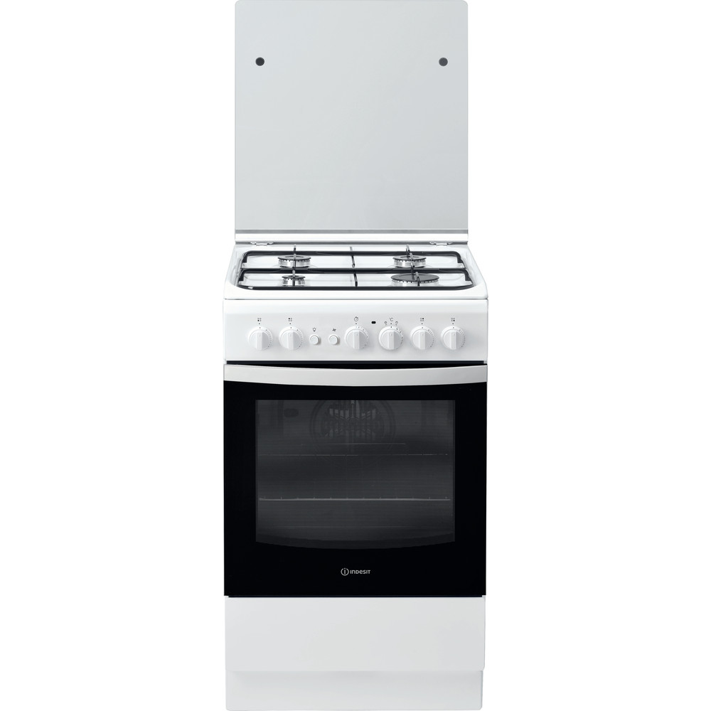 Indesit Cucina con forno a doppia cavità IS5G2PHW/IT Bianco GAS Frontal
