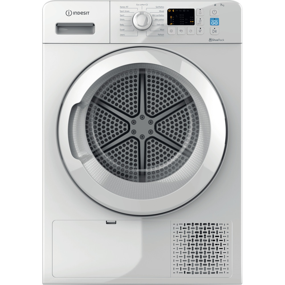 Indesit Dryer YT M10 71 R UK White Frontal