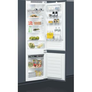 Whirlpool Kombinētais ledusskapis/saldētava Iebūvējams ART 9812 SF1 Balta 2 doors Perspective open