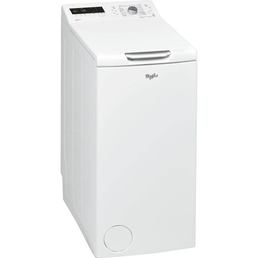 Whirlpool toppmatad tvättmaskin: 6.5 kg - AWEco 9660